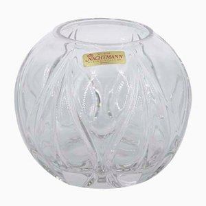 German Crystal Ball Vase from Nachtmann, 1960s