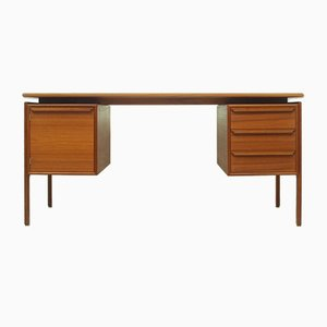 Danish Teak Desk by from G. V. Møbler, 1960s