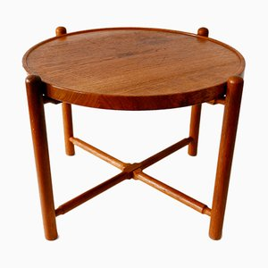 Tavolino da caffè AT35 pieghevole di Hans Wegner per Andreas Tuck, anni '60