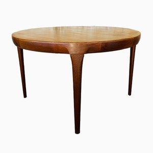 Table de Salle à Manger en Teck par Ib Kofod-Larsen pour Faarup Möbelfabrik, Danemark, 1960s