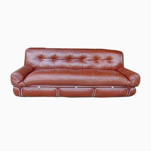 Faux Leather Sofa, 1970s