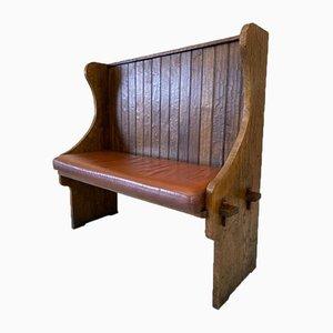 Cotswold School Settle Bench
