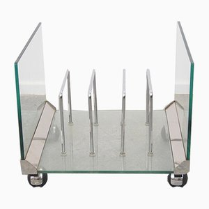 Italian Design Magazine Rack by Gallotti & Radice
