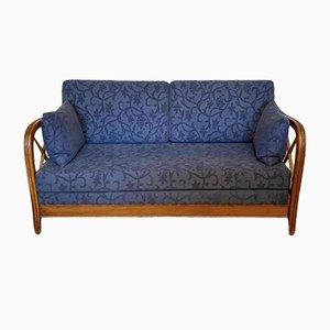Italienisches Kirschholz Sofa von Paolo Buffa, 1950er