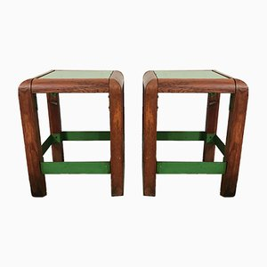 Stools by Jacques Tissinier & Jean Neuhaus, 1970s, Set of 2