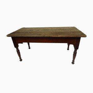 Edwardian Scrub Top Kitchen Table