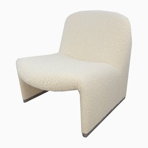 Mid-Century Alky Lounge Chair by Giancarlo Piretti for Artifort, 1970s