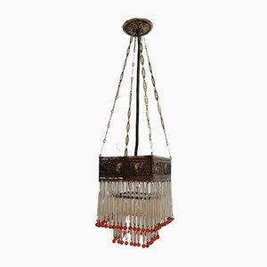 Art Deco Ceiling Lamp, 1940s