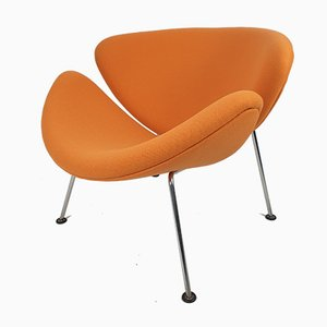 Mid-Century Orange Slice Lounge Chair by Pierre Paulin for Artifort, 1980s