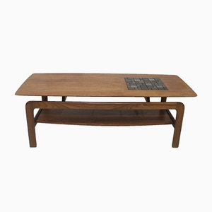 Danish Arne Hovmand Olsen Style Teak Coffee Table, 1970s