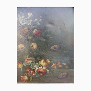 Painting with Bouquet of Flowers