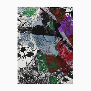 Jean-Paul Riopelle, Abstract Composition, Lithograph, 1969