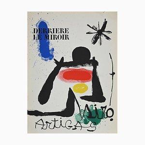 Joan Miró, Cover for Derrière le Miroir, Lithograph, 1963