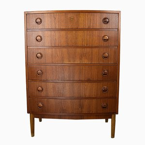 Teak and Oak Chest of Drawers by Kai Kristiansen, 1950s