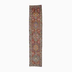 Türkischer Vintage Oushak Teppich aus Wolle