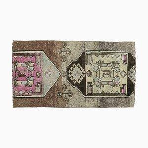 Vintage Turkish Oushak Handmade Wool Rug