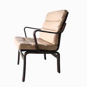 Schwedischer Vintage Armlehnstuhl aus Bugholz von G-Möbel
