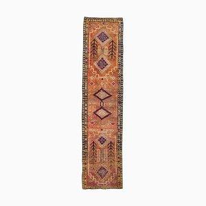 Pastel Turkish Vintage Hand-Knotted Wool Rug