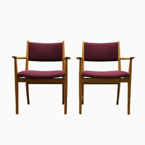 Vintage Armlehnstuhl aus Eichenholz von Kai Lyngfeldt Larsen für Søren Willadsen