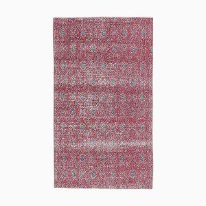 Roter Vintage Türkischer Vintage Teppich