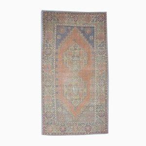 Antiker türkischer Handgeknüpfter Wollteppich