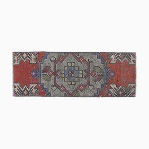 Vintage Middle Eastern Handmade Wool Rug