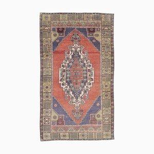 Handgefertigter orientalischer Vintage Wollteppich