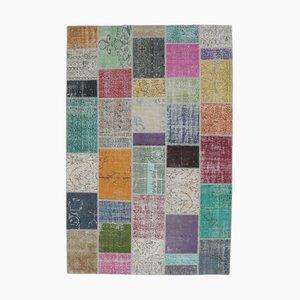 Türkischer Patchwork Vintage Teppich