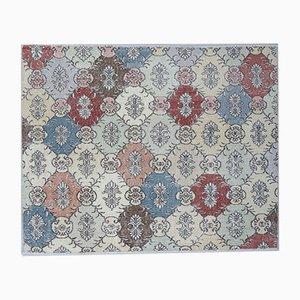 Floral Turkish Vintage Carpet