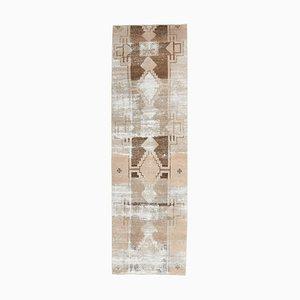 Handgemachter türkischer Vintage Teppich aus Wolle
