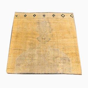 Square Antique Turkish Rug