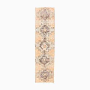Turkish Wool Orange Handmade Vintage Rug