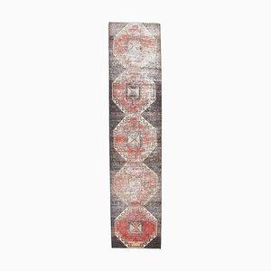 Antique Runner Turkish Handmade Wool Rug