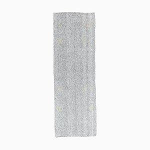 Türkischer Handgeknüpfter Vintage Kelim Flachgewebe Teppich aus Wolle