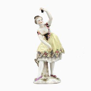 Figurine Tänzerin aus Porzellan