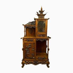 Napoleon III Gabriel Viardot- / Japanese-Style Ceremonial Pagoda Cabinet, 1850s