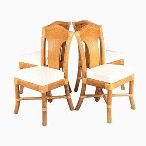 Chaises de Salon Attribuées à Vivai Del Sud, Set de 4