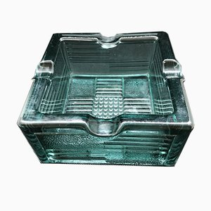 Vintage Belgian Art Deco Ashtray from Val St Lambert