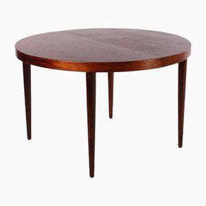 Extendable Oval Rosewood Model 331/10 Dining Table by Arne Vodder, 1960s