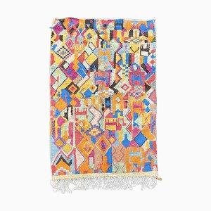 Handgeknüpfter Vintage Berber Boujad Teppich