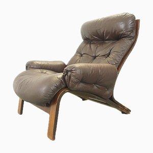 Scandinavian Lounge Chair by Oddvin Rykken for Rybo Rykken