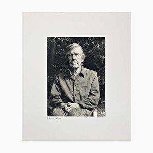 Portrait Foto von John Cage von Rolf Hans, 1990er