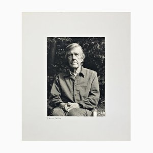 Retrato de John Cage de Rolf Hans, años 90