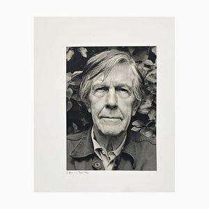 Portrait Foto von John Cage von Rolf Hans, 1990