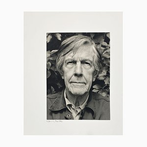 Portrait Photo of John Cage by Rolf Hans, 1990