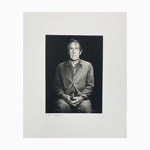 Portrait Foto von John Cage von Rolf Hans, 1986