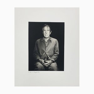 Portrait Photo of John Cage by Rolf Hans, 1986