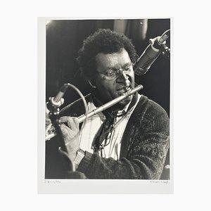 Portrait Foto von Anthony Braxton von Rolf Hans, 1990
