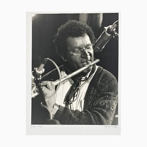 Portrait Photo of Anthony Braxton by Rolf Hans, 1990