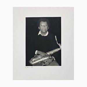 Portrait Foto von Anthony Braxton von Rolf Hans, 1989